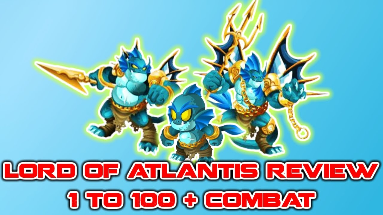 Monster Legends Lord Of Atlantis