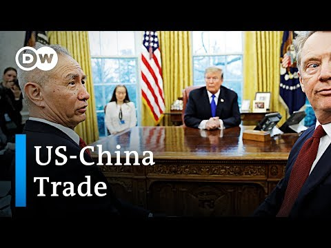 Trump claims trade deal with China is imminent | DW News