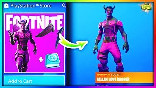 COMMENT À GET -Fallen Love RangerMD SKIN à Fortnite (New Vbucks Challenges Pack)