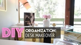 Desk Makeover: Diy Organization + Accessorizing | Homegoods