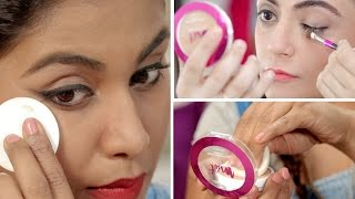 7 Genius Ways To Use A Compact Powder | Makeup Hacks