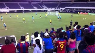 FC Barcelona at Dallas Cowboys Stadium
