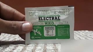 Electral powder/ORS Powder Benifits in Hindi / How to use