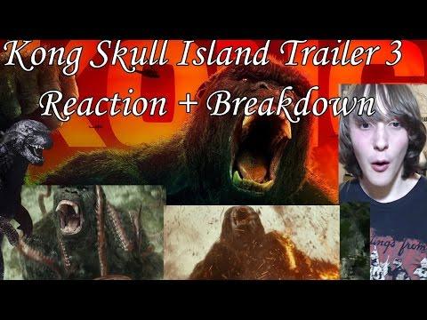Kong Skull Island TV Spots Reactions + Breakdown