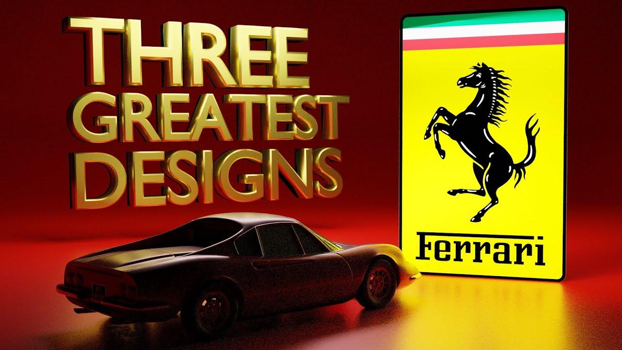 F430 & FXX Designer Chooses His THREE Favourite Ferrari Designs!