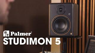 "Palmer STUDIMON 5 - Powered 5"" Reference Nearfield Studio Monitor"