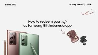 Samsung Indonesia: Galaxy Note20 | 20 Ultra e-Voucher Redemption