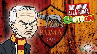 AUTOGOL CARTOON - Mourinho alla Roma