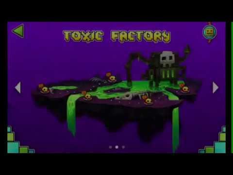 Geometry Dash World: Toxic Factory (levels 6-10)
