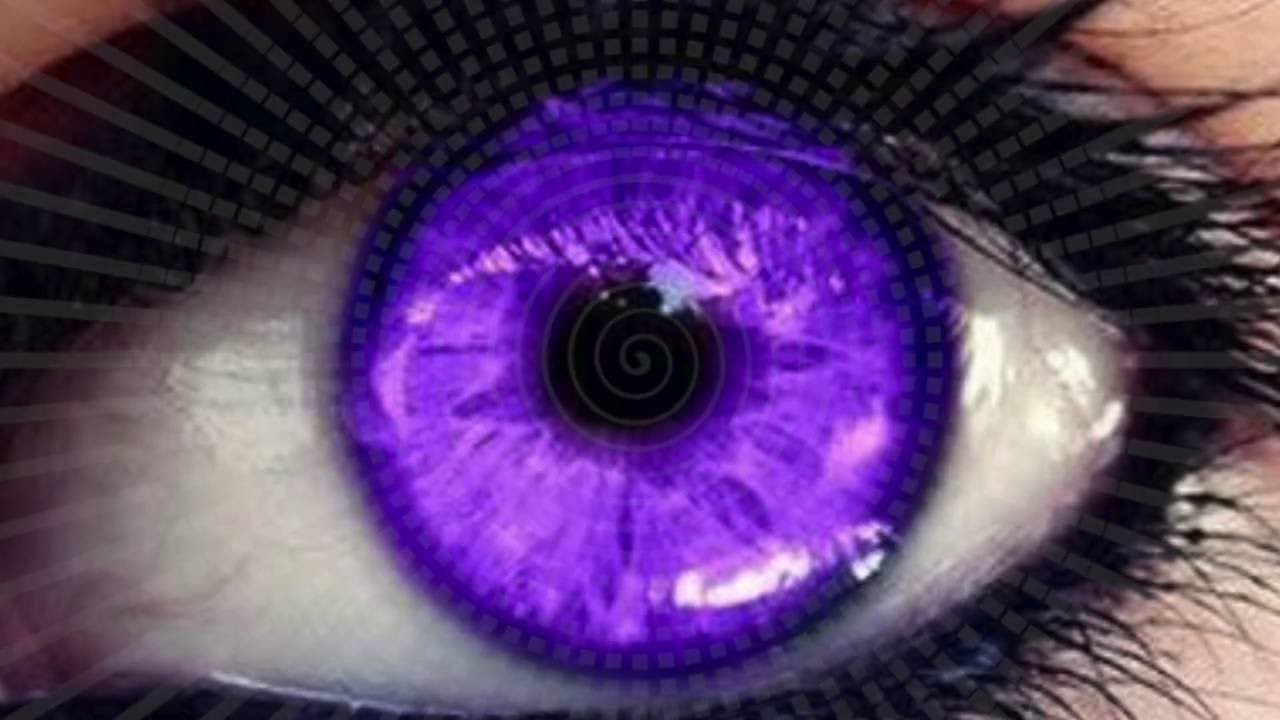 Change Your Eye Color To Purple In 10 Seconds Hypnosis Biokinesis You