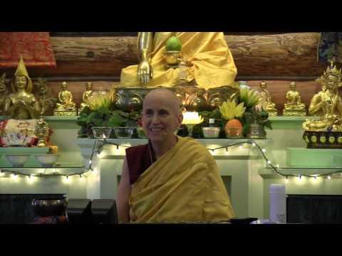 03 Vajrasattva Retreat: Becoming Vajrasattva 01-01-17