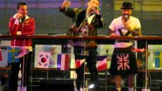 Backstreet Boys Cruise 2010   International Luv night