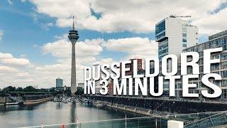 Düsseldorf, Germany in 3 minutes!