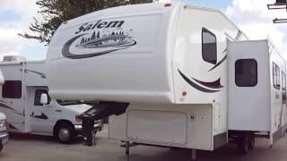 2005 Salem 24BHSS 5th Wheel Travel Trailer