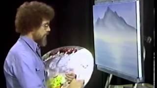 Bob Ross Malerei Meer Und Zum Sonnenuntergang