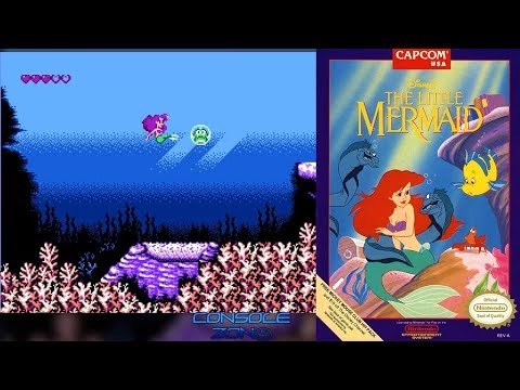 Ariel The Little Mermaid (Dendy) - прохождение игры