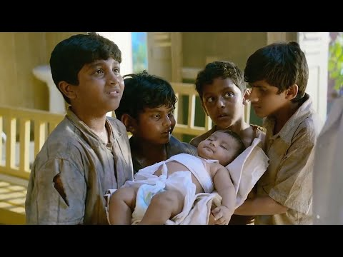 四个乞丐捡到一个婴儿,养大之后发现他是战神,一部印度动作电影