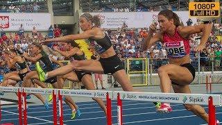 100m Hurdles at Kamila Skolimowska Memorial 2018