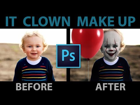 IT Clown/Joker/Pennywise Photoshop Tutorial