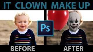IT Clown/Joker/Pennywise Photoshop Tutorial