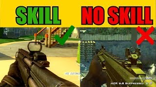 TOP 10 WEAPONS in Call of Duty that REALLY TAKE SKILL TO USE!