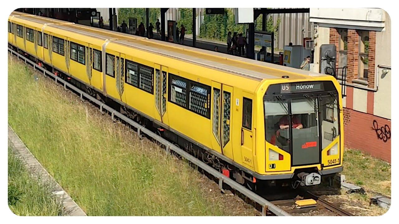U-Bahn Berlin • Baureihe H • BVG Linie U5 • Subway in ...