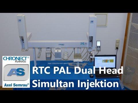 RTC PAL Dual Head Simultan-Injektion