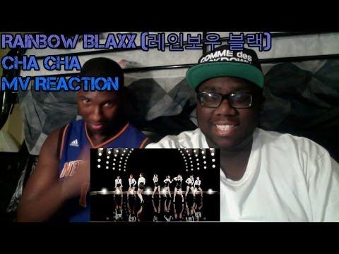 Black People React to Kpop - Rainbow Blaxx (레인보우 블랙) - Cha Cha MV Reaction