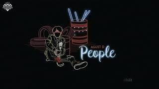 Cover images [Vietsub] Agust D - People