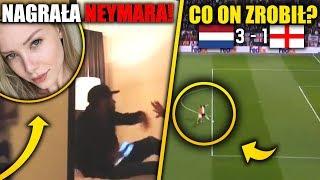 Neymar NAGRANY w hotelu! Koszmarne błędy Anglików! Holandia w FINALE! Liga Narodów!