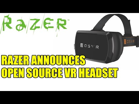Razer Announces Open Source VR Headset