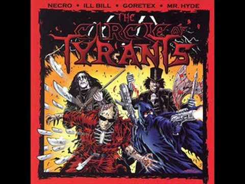 "NECRO & MR. HYDE (GRUESOME TWOSOME/THE CIRCLE OF TYRANTS) - ""SOUTH OF HEAVEN"""