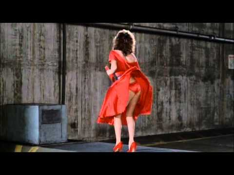 The Woman In Red Scene