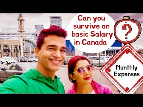 Can You Survive In Basic Salary In Canada? - Life In Canada