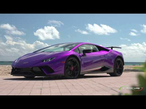 Lamborghini Huracan Performante Launch Control: Dash View on a Track