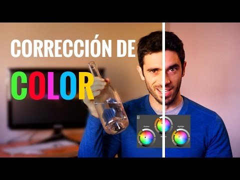 CORRECCIÓN DE COLOR básica para vídeo (COLORISTA)