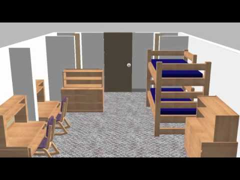 3 D Rendering Of Bayliss/Henninger Student Rooms   YouTube Part 5