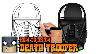How to Draw Death Trooper | Star Wars