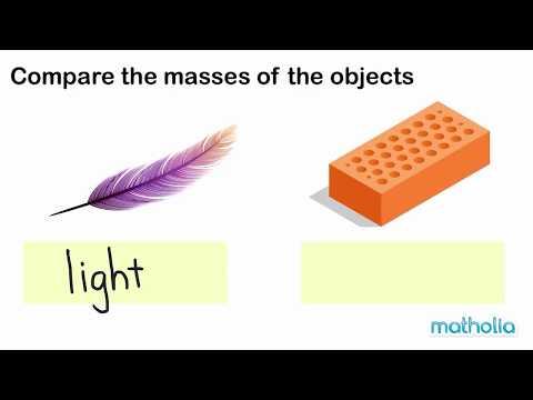 Comparing Mass (Part 1)