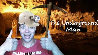 The underground man Gameplay : The only way to survive is corn dogs