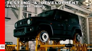 2019 Suzuki Jimny Testing & Development