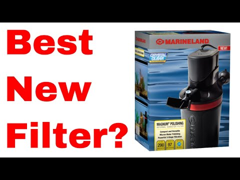 Awesome Internal Canister Filter!  Marineland Magnum Polishing Filter