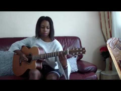 (Sungha Jung) - Catching The Beat - Illona Bolou (Baritone Guitar)