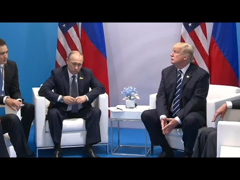 President Trump and President Putin meet at G20 summit