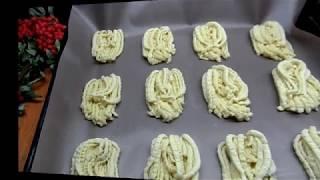 Хризантема-те самые печенья из детства.Как приготовить?