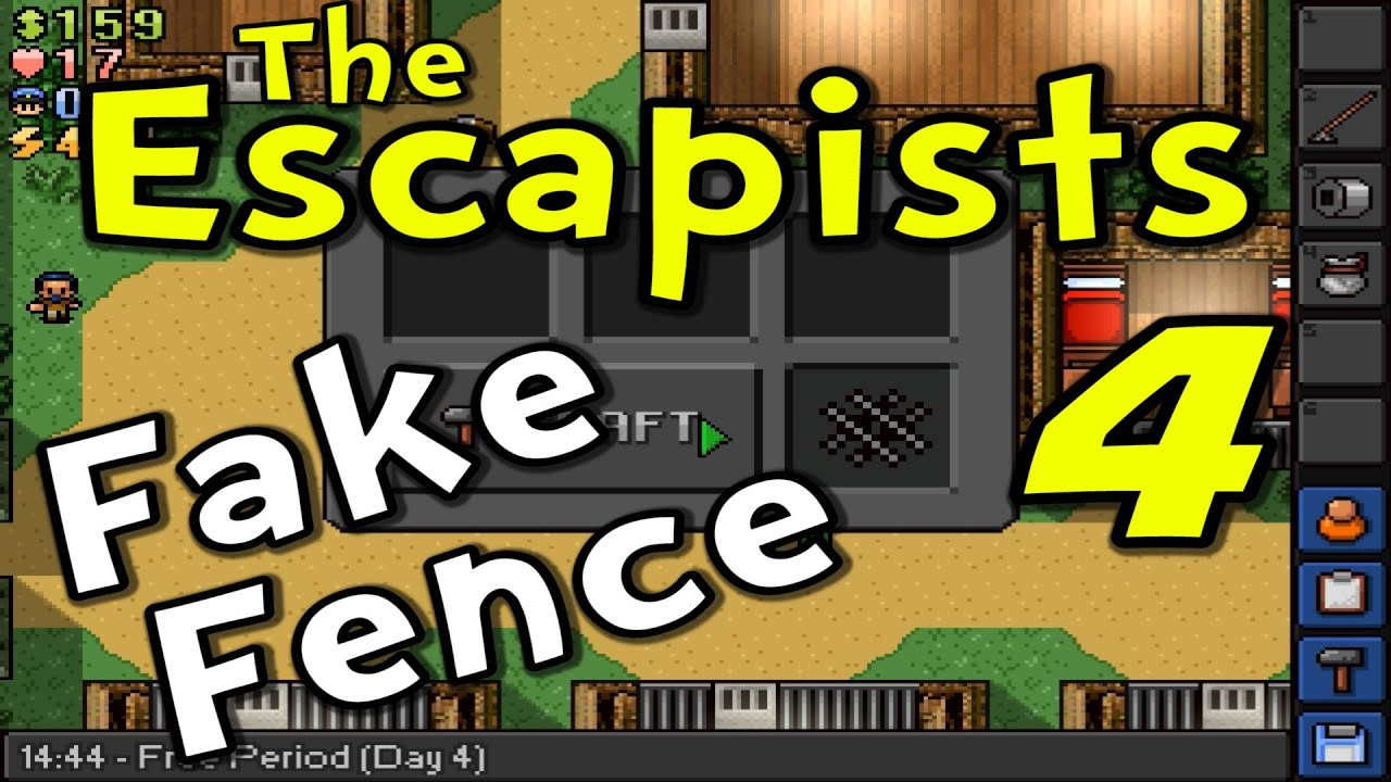 the escapists s3e04 fake fence recipe day 4 youtube