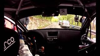 Camera Car Shaked Down Andreucci-Andreussi Botticino Rally 1000 Miglia
