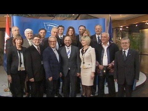 First taste of European Parliament for Croatia