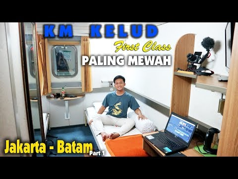 36 Jam di Laut | 5x Servis Makan di KAPAL MEWAH KM KELUD Jakarta - Batam