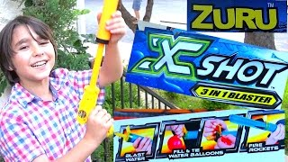 X Shot Hydro 3 Bomb Blaster with William-Haik!